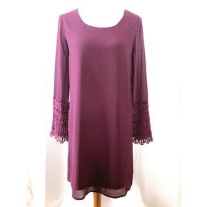 Charming Charlie Womens Small Purple Dress